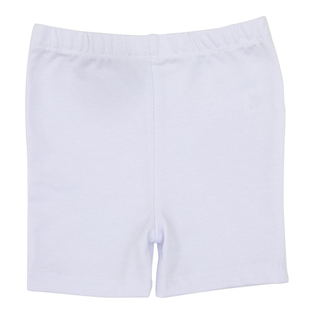 Mila & Rose White Twirl Shorts