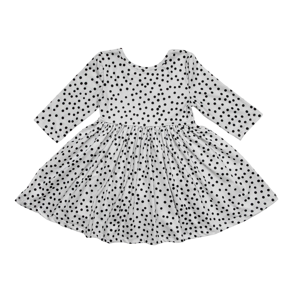 Mila & Rose Scattered Dot Twirl Dress