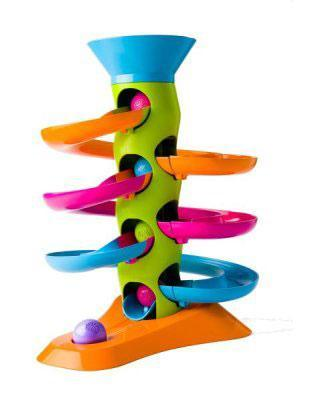 Fat Brain Toys Roll Again Tower