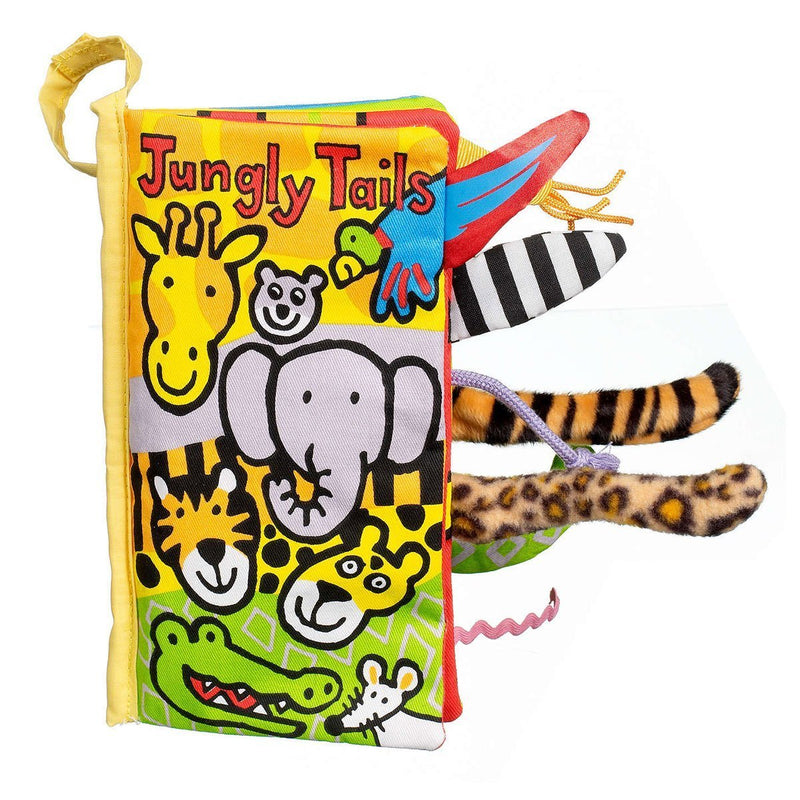 Jellycat Jungly Tails Soft Book