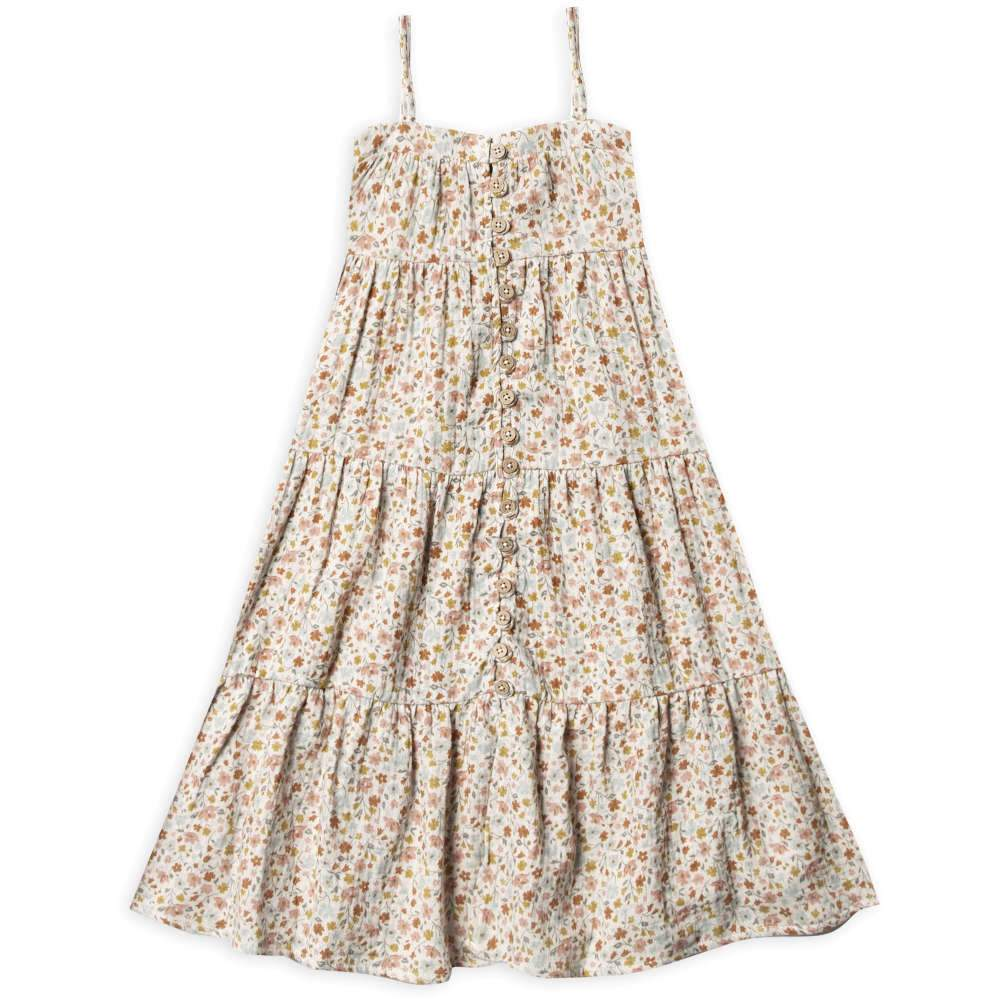 Rylee + Cru Flower Field Tiered Maxi Dress