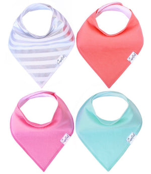 Baby Bandana Bibs - Jewel - Copper Pearl - 2