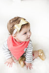 Baby Bandana Bibs - Jewel - Copper Pearl - 3