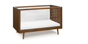 Ubabub Nifty Clear 3-In-1 Crib In Walnut Finish