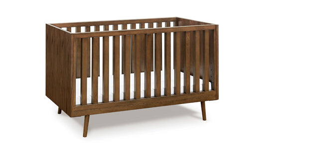 Ubabub Nifty Timber 3-In-1 Crib In Walnut Finish