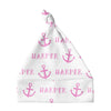 Sugar + Maple Knotted Baby Hat - Anchor Pink