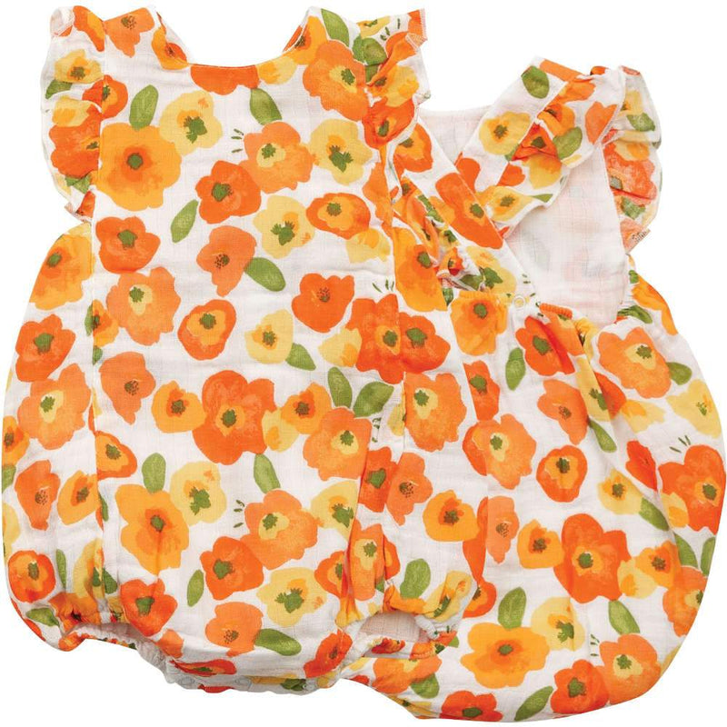 Angel Dear Poppies Sunsuit
