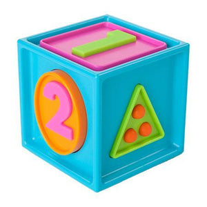 Fat Brain Toys Smarty Cube 123