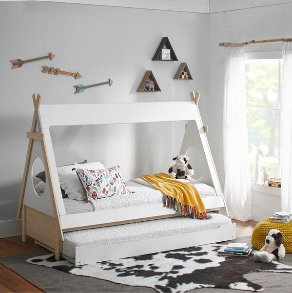 Ti Amo Sierra Teepee Bed & Trundle