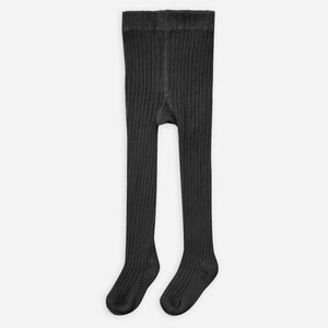 Rylee + Cru Rib Knit Tights | vintage black