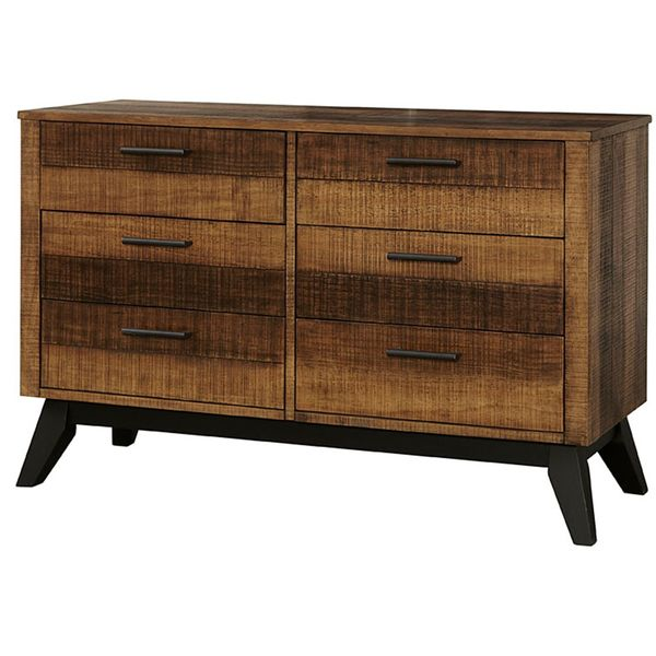 Westwood Urban Rustic Dresser in Brushed Wheat