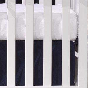 Liz & Roo White Egyptian Cotton Crib Sheet