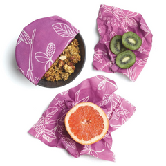 Bee's Wrap, reusable storage covers for food