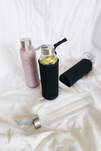 Glass Water Bottle with Case