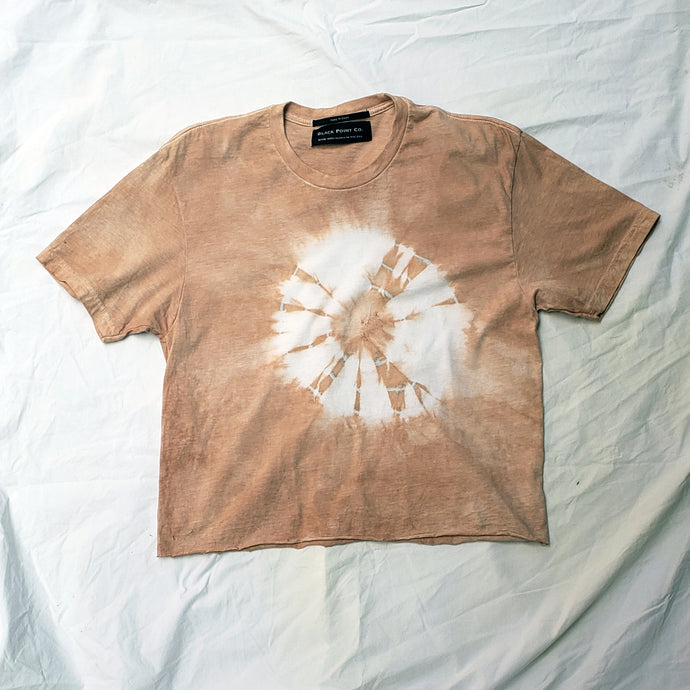 Naturally Tie Dyed Crewneck Tee