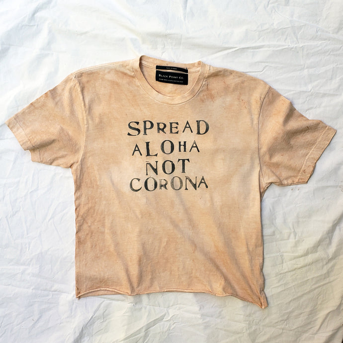 Naturally Dyed Spread Aloha Tee