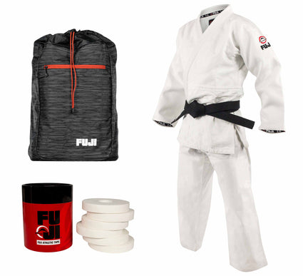 FUJI Double Weave Judo Gi Bundle (3 Items)