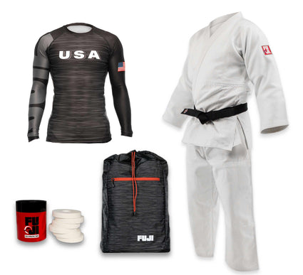 Euro Comp Judo Gi Bundle (4 items)