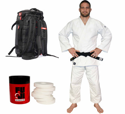 Mizuno Shiai Judo Gi Bundle (3 Items)