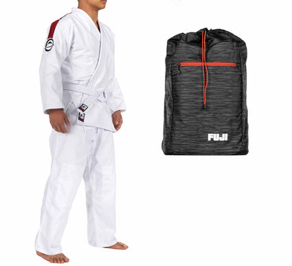 FUJI Training Judo Gi & Lightweight Bag Bundle (2 Items)