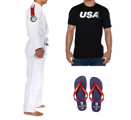 USA Judo Men's Bundle (3 Items)