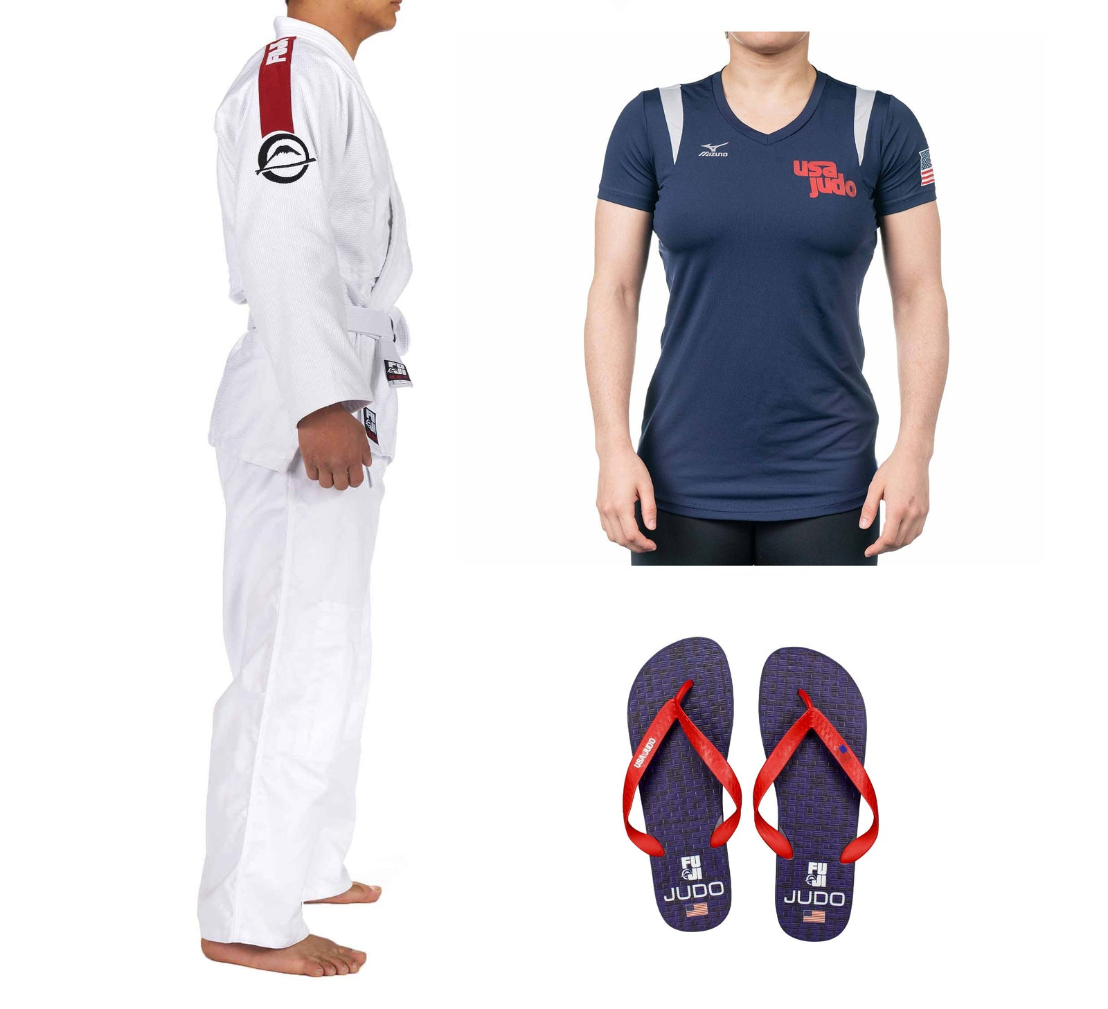 USA Judo Women's Bundle (3 Items)
