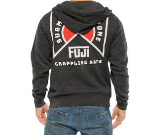 Grappling Arts Zip Up Sweatshirt