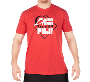 Judo Team Ippon Red T-Shirt