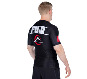 Skyline Black Short Sleeve Rashguard