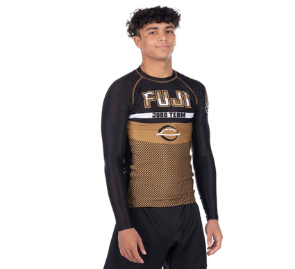 Reversal Judo Long Sleeve Rashguard Gold