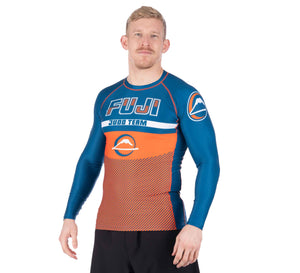 Reversal Judo Long Sleeve Rashguard Orange