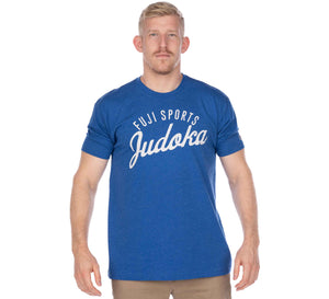 Flow Judo Men's Blue T-Shirt
