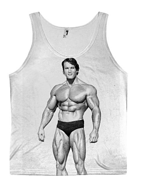 Arnold Schwarzenegger Tank Top Gym Wear