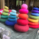 Papoose Toys felt stacking stones