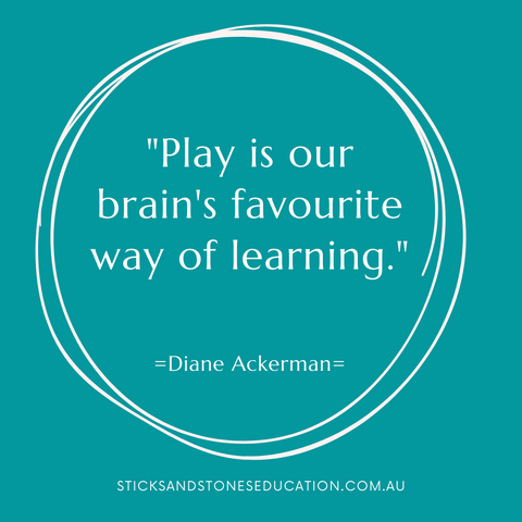 play is the brain's favourite way of learning - quote by diane ackerman