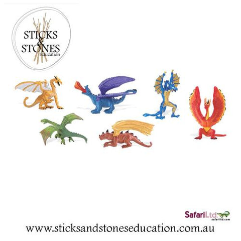 Lair of the Dragons Toob - Sticks & Stones Education