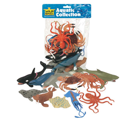 Aquatic Poly Bag - Sticks & Stones Education