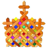 Bauspiel - X-Shaped Blocks - Set of 48