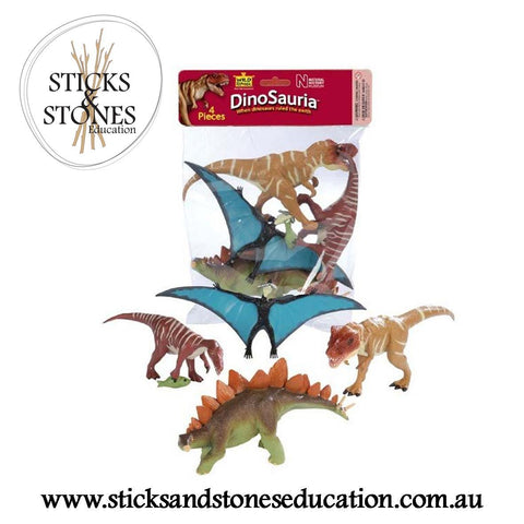 Dinosaur Polybag Set 1 - Sticks & Stones Education