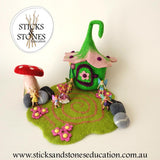 Felt Toadstool (Large) - Sticks & Stones Education