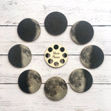 Phases of the Moon Mini Discs || My Little Set