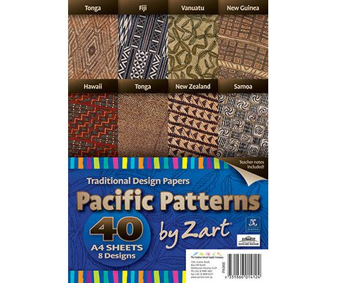 Traditional Pacific Pattern Paper