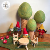Spring Felt Trees - Sticks & Stones Education