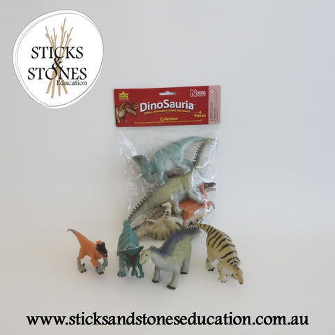 Dinosaur Polybag Set 2 - Sticks & Stones Education
