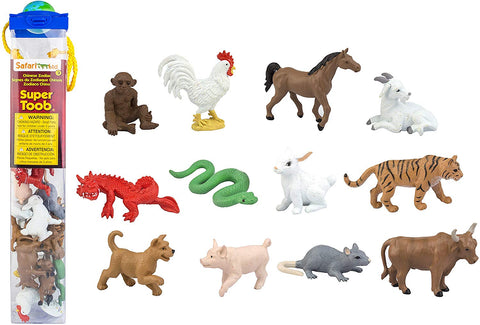 Chinese Zodiac Animals Toob