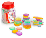 Clear Junior Rainbow Pebbles