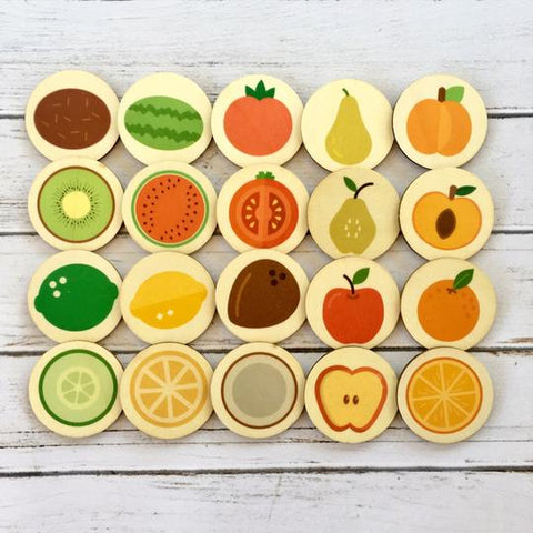 Cut Fruit Memory Match Game || My Little Set