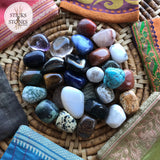 Collection of Crystals & Tumbled Stones - Sticks & Stones Education