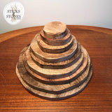 Wooden Pyramid - Sticks & Stones Education