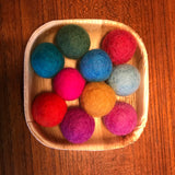 Felt Pom-Poms Summer Mini Set - Sticks & Stones Education